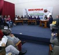 QUITO, Ecuador.- Organizadores de la diligencia aclararon que resultado no es de cumplimiento obligatorio. Foto: API.