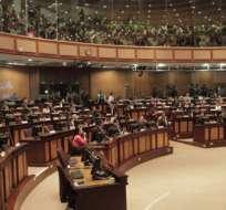 Asambleístas de Alianza PAIS difieren sobre accionar de Corte Constitucional. Foto: Archivo.