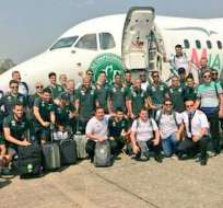 El avión con la delegación brasileña debía llegar a Medellín para disputar la final de ida de la Sudamericana.