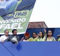 QUITO, Ecuador.- Correa se refirió a los hechos de corrupción denunciados durante encuentro con coidearios. Foto: API.