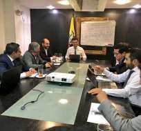 Los cinco funcionarios del CNE deberían dejar sus plazas el 29 de noviembre del 2017. Foto: Archivo