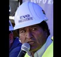 El presidente Evo Morales llegó al poder en el año 2006.  Foto:AFP