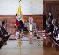 Colectivos también se pronunciaron sobre el fin del período de autoridades del CNE. Foto: Twitter Presidencia