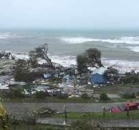 Daños ocasionados por el huracán Irma tras su paso por las Islas Vírgenes de Gran Bretaña. Foto: Archivo AP