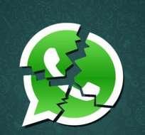 La aplicación móvil de mensajería instantánea WhatsApp sufrió una caída en varios países del mundo. Foto: Archivo
