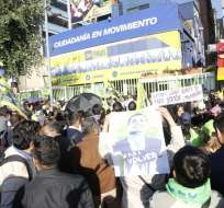 Rafael Correa planea viajar a Esmeraldas para realizar un encuentro con sus simpatizantes. Foto: API