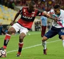 Flamengo ganó 2-1 en la ida de la semifinal, ahora devuelve la visita a Junior de Barranquilla.