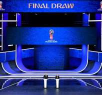 El sorteo se llevó a cabo en el Kremlin de Moscú. Foto: AFP