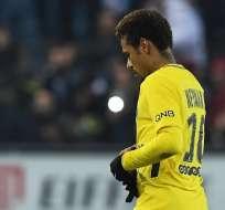 Neymar no pudo anotar en esta fecha de la liga francesa. Foto: AFP