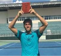 Roberto Quiroz ganó el Futuro 1 de República Dominicana y sumó 18 puntos ATP.