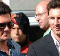 En Argentina informan que el hermano de Lionel Messi está detenido por posesión ilegal de arma.