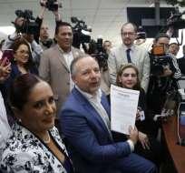 """No me siento ningún perseguido político"", dijo Espinosa. Foto: API"