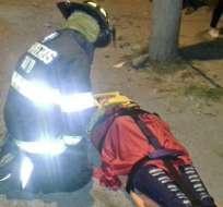 Autoridades informaron que emergencia se reportó en la calle Moraspungo y Padre Rumi (Mitad del Mundo). Foto: Twitter Cuerpo de Bomberos de Quito.