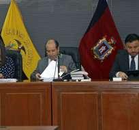 Los representantes de la Procuraduría llegaron a la CNJ con 7 minutos de retraso. Foto: Archivo API
