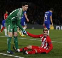 Los españoles empataron 1-1 con Chelsea y quedaron en tercer lugar de su grupo. Foto: AFP