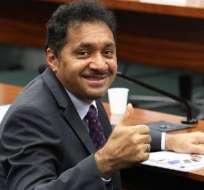 Francisco Silva, conocido como Tiririca, es el segundo diputado más votado de Brasil. Foto: Live News