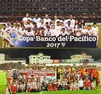 Liga de Quito y Técnico Universitario disputarán el cuarto cupo a la Sudamericana 2018.