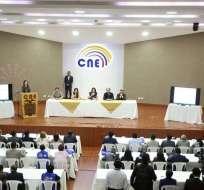 El Consejo Nacional Electoral informó que 13'026.598 ciudadanos están habilitados para sufragar en el proceso. Foto: Twitter CNE.
