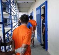 El director provincial de la Judicatura, Julio Aguayo, indicó que en el Sistema Judicial hay variables que determinan si los detenidos por la policía merecen una sentencia o no. Foto: Archivo