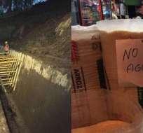 Corte de agua por deslave en El Troje causa afectación en cientos de barrios capitalinos.