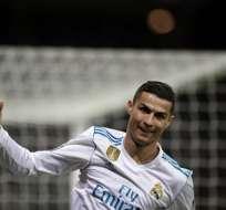 El atacante de Real Madrid igualó a Lionel Messi como el más ganador de ese trofeo. Foto: AFP