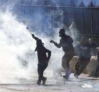 Miles se manifestaron luego del reconocimiento de Estados Unidos a Jerusalén. Foto: AP