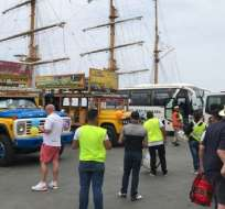 A Manta llegarán 30.069 turistas extranjeros durante la temporada de cruceros. Foto: ElCiudadano.gob.ec
