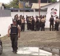 Los implicados en este caso fueron detenidos el jueves 07 de diciembre, por sus propios compañeros. Foto: Ecuavisa