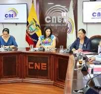 CNE aprueba gasto de promoción electoral para la consulta popular. Foto: CNE