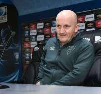 El entrenador uruguayo Pablo Repetto ya piensa en los cotejos por el repechaje a la Sudamericana.