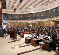 QUITO, Ecuador.- Presidente vetó proyecto de ley modificado en un 60% por la comisión de mayoría correísta. Foto: Flickr Asamblea.