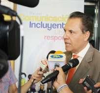 La destitución aplicaría al cargo de director nacional de Noticias de Gamavisión. Ochoa reacciona. Foto: Archivo Flickr Supercom