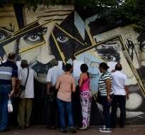 La participación fue de 47,3% (9,1 millones de electores). Foto: AFP