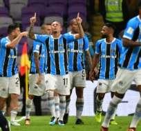 Los brasileños vencieron a los mexicanos con gol de Everton al minuto 95. Foto: AFP