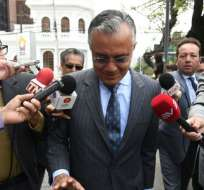 Alexis Mera aseguró que Pareja Cordero engañó a exvicepresidente de empresa Odebrecht. Foto: Archivo API.