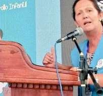 Cordero, es quiteña, y tiene estudios de historia en la Universidad Católica, además, ha estado vinculada a UNICEF. Foto: Twitter