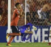 Independiente ganó en la final de ida con remontada ante Flamengo de Brasil.