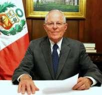 Kuczynski, de 79 años, fue ministro del gobierno de Alejandro Toledo (2001-2006).    Foto:AFP