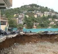 Medida se tomó por trabajos subterráneos de minería ilegal que afectaban al cantón.  Foto: Archivo / Captura