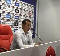 Guillermo Sanguinetti señaló que en Manta tratarán de remontar para proclamarse campeones.