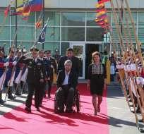 Moreno concede mucha importancia a los problemas de la migración. Foto: Cancillería