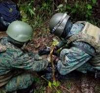 """Según el Ejército, ya se está investigando las causas del """"accidente"""". Foto referencial / ccffaa.mil.ec"""