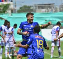 El defensor Francisco Silva es baja en Delfín por lesión de último momento.