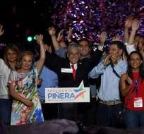 Qué dice el triunfo de Sebastián Piñera en Chile sobre el giro hacia la derecha. Foto: AFP