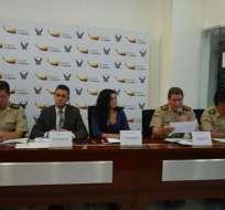 LOJA, Ecuador.-Policía de Criminalística determinará las causas de fallecimiento luego de la autopsia. Foto: