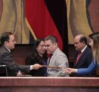 QUITO, Ecuador.- Rivera se desempeñó como Consejero Política Económica desde el 24 de mayo de 2017. Foto: Asamblea Nacional