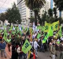 La dirigente de AP Gabriela Rivadeneira presentó la apelación contra ala morenista. Foto: Archivo Twitter @VamosLenin