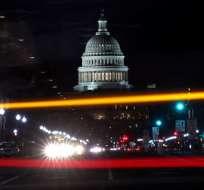 El Senado aprobó el proyecto de ley de reforma tributaria del presidente Trump y hoy volverá a la Cámara de Representantes para su aprobación final. Foto: AFP