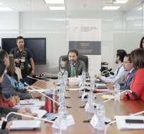 Comisión de Régimen Económico en Asamblea Nacional. Foto: Legislativo