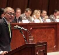 Corte Constitucional sesiona para analizar pedido de juicio político a Glas. Foto: Archivo